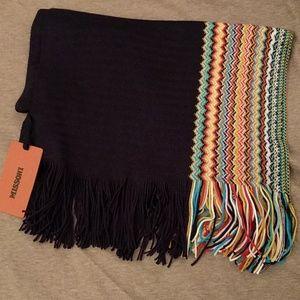 NWT Missoni knit chevron scarf